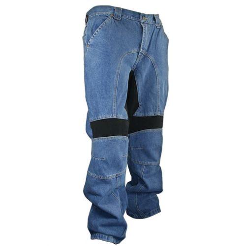 Мотоджинсы Mens Classic Fit Denim Motorcycle Racing Pants